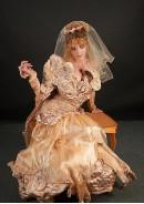 «Golden lily» (Подвенечное платье с аксессуарами)
