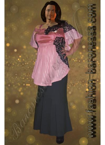 Блузка «Pink flash»